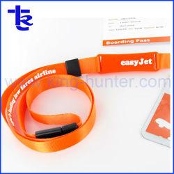 De Aandrijving van de Flits van het Sleutelkoord USB van de Riem van de Hals van de Polyester van de premie