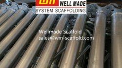 型枠および足場鋼鉄支柱の高い積載量の調節可能な支注のポスト