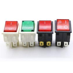 ダブル・プレス・ボタン・サーモスタット・スイッチ 16A 250V オーブンダンプ・スイッチ、 CE 赤 / 白