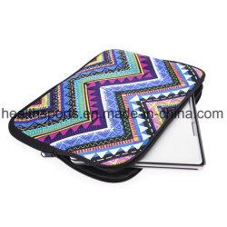 Protezione del ridurre in pani del sacchetto del taccuino, manicotto di sacchetto stampato del computer portatile del neoprene della chiusura lampo