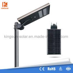 30W Smart LED Integerated солнечной уличное освещение - все в одном с датчиком движения и пульт дистанционного управления