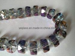 Charme Perles Bracelets Vente chaude Rondelle cristal à facettes perles de verre
