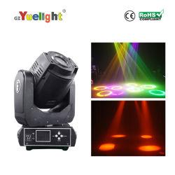 O Spotlight RGBW 60W luz UV Spot LED Mini movimentação manual de cabeça para KTV Bar