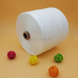 Commerce de gros de matières Blanc 100 % filés de polyester 40/2 fabricant en Chine