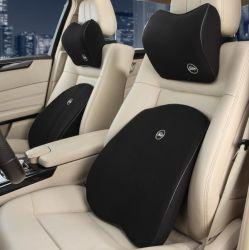 차 요추 부목 베개 기억 장치 거품 시트 의자 허리 허리 뒤 지원 방석 차 안마 베개는 차 부속품을 지원한다