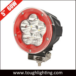 Heavy Duty 5pouce 60W off-road 4X4 LED spotlight automatique