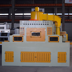ماكينة التفجير الرملية التلقائي لخزانات التفجير ذات الألواح الزجاجية/الناقلات/الناقلات معدات الصنفرة المخصصة للكشط