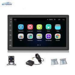 Betterway 2DIN Android 9.1 7 Zoll-Autoradio Autoradio Spieler GPS-Navigation WiFi BT FM + hintere Kamera