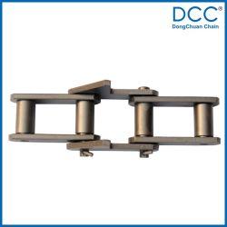 Enlace profundo hueco Cadenas de rodillos de transporte especial de la patilla según DIN8168 e ISO1977