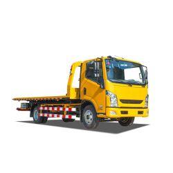 Yuejin 3 de Vrachtwagen van Wrecker van de Weg van het Type van Platform van de Ton LHD 4X2