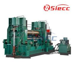 W11s rollo de lámina de plástico hidráulica máquina de doblado, máquina de doblado de la placa, placa de rodillo 4