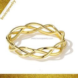 Instagram moda joyas chapado en oro joyería de plata esterlina 925 Ring