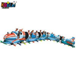 Amusement Park Rocket Electric Mini train de chenille pour le Shopping Mall Square (KL6021)