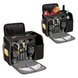 Несколько отсеков стильный набор для пикника рюкзак фронтальной подушки безопасности для установки вне помещений