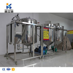 Huile de cuisson affiner le son de riz de melons de graines de noix de cajou Nus raffinerie de pétrole de l'équipement tournesol d'arachide Huile de colza de la machine de raffinage
