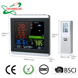 Беспроводные станции прогноза погоды гигрометр-термометр барометр с часами и будильником