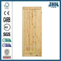 Madera dura Swing moderno interior puertas de madera
