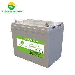 5 ans de garantie du Yangtze 12V 12,8V 60Ah batterie LiFePO4 A123