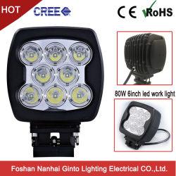 Heavy Duty 80W 6pouces LED CREE/projecteurs phare de travail (GT1025-80W)