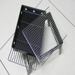 Los productos más vendidos en contacto con alimentos de acero alambre eléctrico barbacoa microondas Rack
