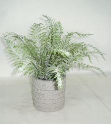 Grünes Faux Fern Artificial Potted Plant für Indoor/Outdoor Decoration