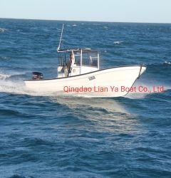Liya 25 футов из стекловолокна рыболовного судна на лодке Panga 7,6 м
