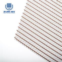Cobre e Aço Inoxidável tecidos decorativos Wire Mesh
