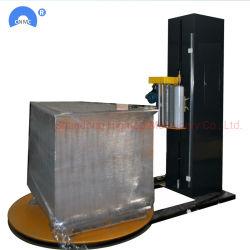 T1650f de Recentste Verpakkende Machine van de Film van de Rek van de Pallet van de Voorwaarde Automatische met PLC