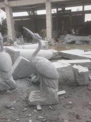 Натурального мрамора и гранита каменные скульптуры животных Суон для наружной декоративной