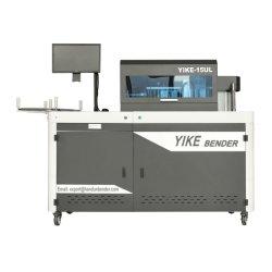 Yike алюминиевый профиль и стали письмо изгиба машины для визуальной рекламы