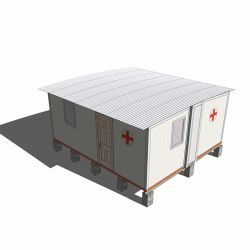 Deepblue 야전 병원 비상사태 대피소 격리 집