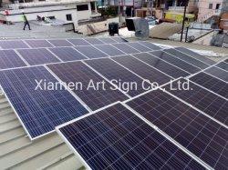 조정가능한 경사 편평한 지붕 태양 랙 장착 시스템