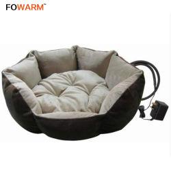 Schattig draagbaar huisdier verwarmd bed/koepel