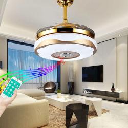 Produit appareil électrique de commande à distance de 42 pouces de ventilateurs de plafond chinois décoratifs de la lumière avec parler Bluetooth