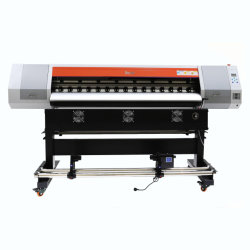 Tecjet Formato Panorâmico Impressora Vinil Solvente ecológico máquina de impressão