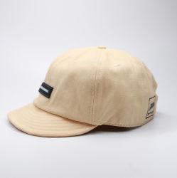 قبعة مخصصة من القطن قابلة للضبط في الهواء الطلق ذات فتحات تهوية منخفضة 6 لوحة قصيرة بريم البيسبول كاب