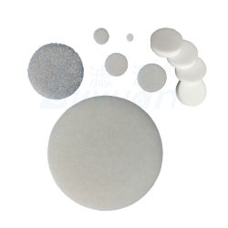 L'auto disque vide du filtre à fritté d'étanchéité du filtre microns de diamètre avec Custom PE Glass-Fiber PVDF PTFE poreux