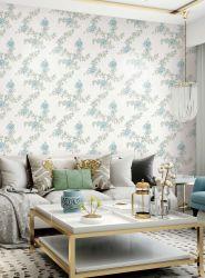 Hotel moderno material de construcción imprimible Arte papel de la pared impermeable para la decoración del hogar