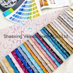 2021nieuwe Aankomst meest Populair Fancy kleurrijke folie Knit Jacquard Span Velvet stof voor de bank en het gordijn stof
