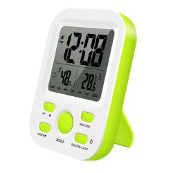 居眠りおよびライト機能トラベル・クロックが付いている装飾LCDの机の柱時計のデジタルホーム目覚し時計