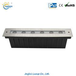 IP67 LED-wandlamp inbouwverlichting voor buiten Step Light begraven Lineaire Landschap ondergrondse lamp met roestvrij staal Voorklep