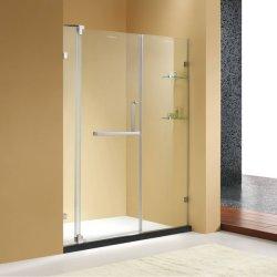 アルミニウム磁気の緩和されたガラスのピボット浴室のシャワーのドア