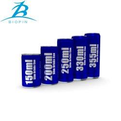 Het aluminium kan met Deksel voor Drank die Gladde 330ml 355ml verpakken