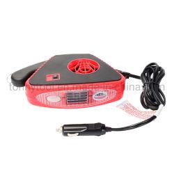 De draagbare Snelle het Verwarmen van de Verwarmer van de Auto 12V AutoStoppen van de KoelVentilator in het Voertuig van de Aansteker Defogger ontdooit 360 Graad Roterend