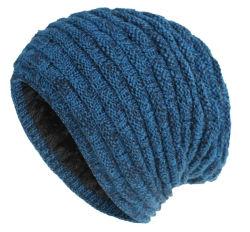 الأسهم عالية الجودة شتاء مخصص دافئ القطن محبوك قبعة أنيقة قبعة بياني للرجال