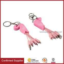 Custom Cute логотип OEM БЫСТРАЯ ЗАРЯДКА USB-кабель мультфильм красочные зарядное устройство USB кабель для мобильных ПК