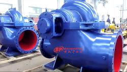 Cas de fractionnement horizontale d'aspiration double pompe à eau