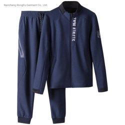 Campos de Golf de Los Hombres sudadera con capucha cremallera Imprimir traje deportivo Chándal de Ocio
