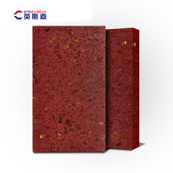 Countertops van de Steen van het Kwarts van het sterrelicht Rode voor Levering voor doorverkoop
