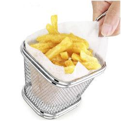 La mejor herramienta para cocinar patatas fritas de vaciar el aceite freír patatas fritas cesta CESTA